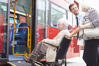 transport and mobility for elderly people