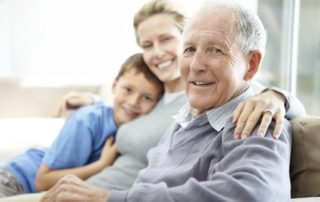 Family Caring for Ageing Parents