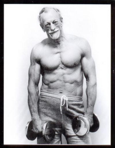 Exercises for Elderly Gentlemen - weights