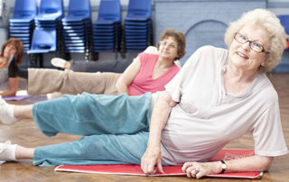 Exercises for Elderly Ladies - Part One