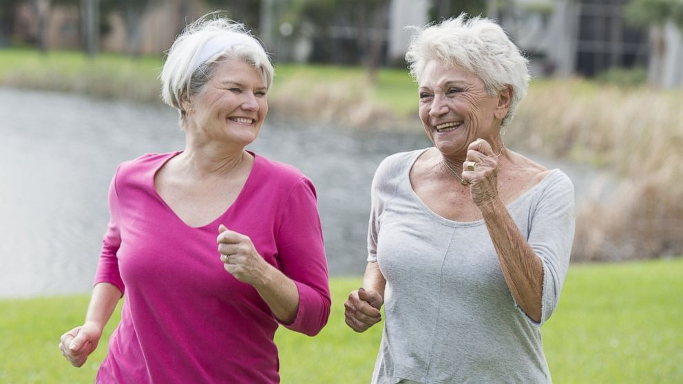 Exercises for Elderly Ladies - Part Two